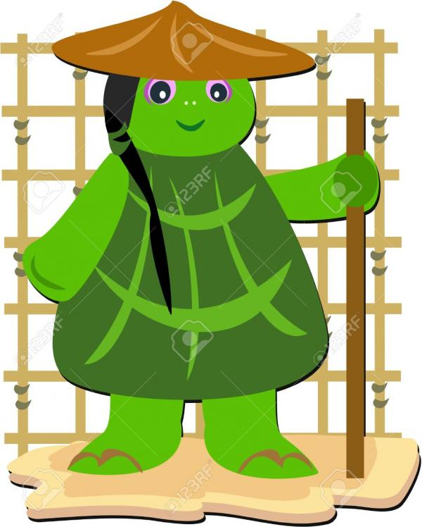 preview Turtle Monk clipart