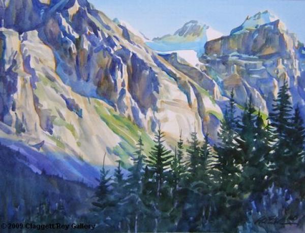 Valley Of Ten Peaks coloring