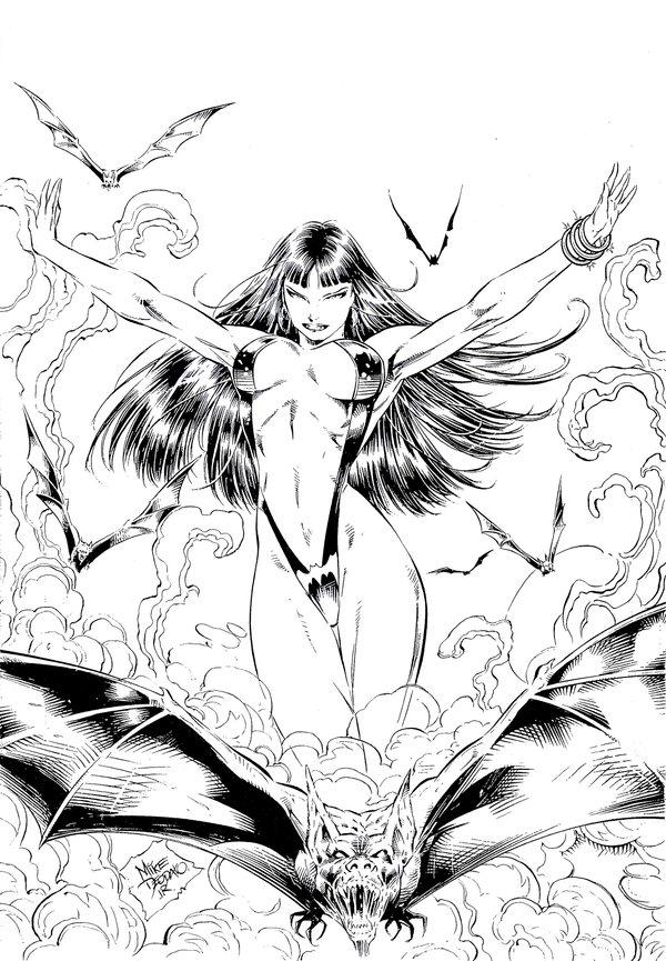 preview Vampirella coloring