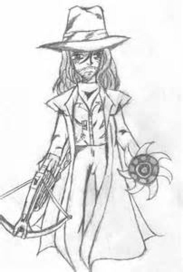 preview Van Helsing coloring