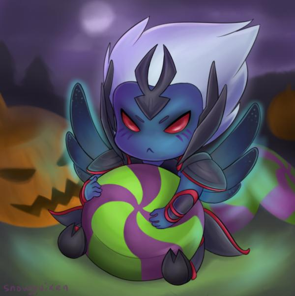 preview Vengeful Spirit (DotA 2) clipart
