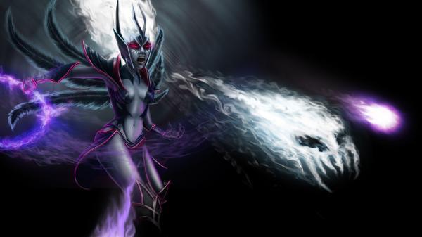 preview Vengeful Spirit (DotA 2) coloring