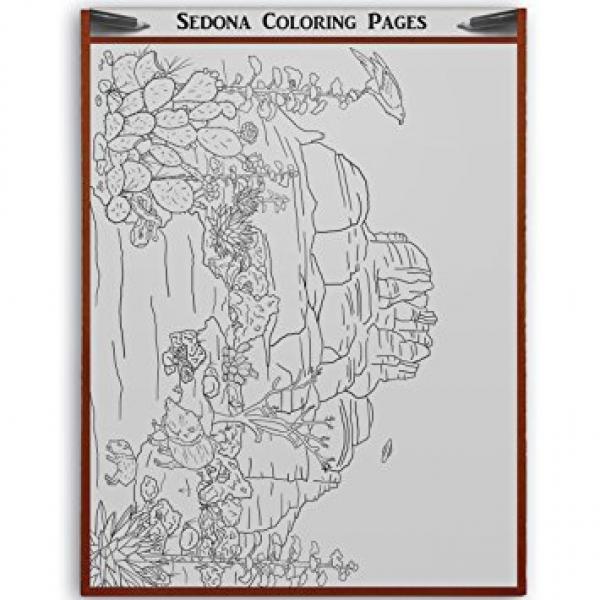 Sedona coloring