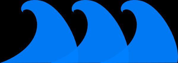 Monster Waves clipart