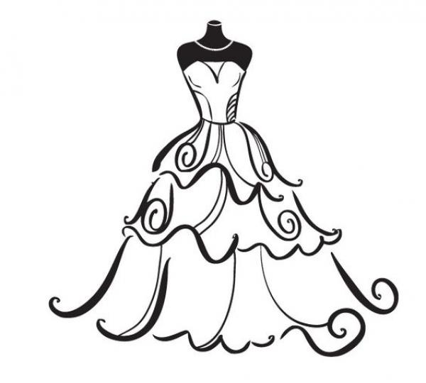 preview Wedding Dress clipart