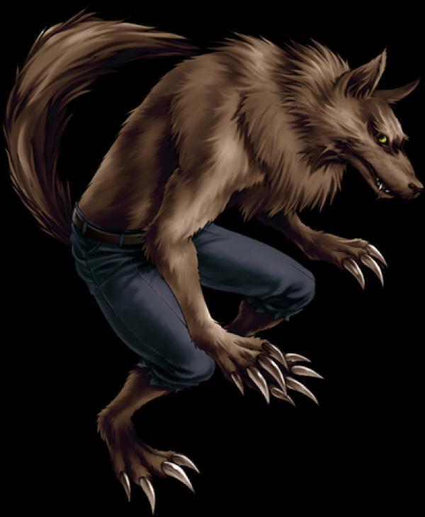 preview Werewolf clipart