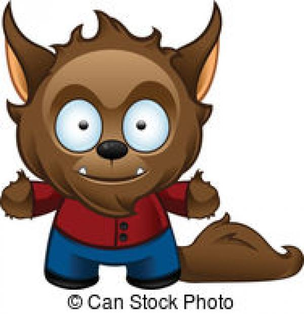 preview Werewolf clipart