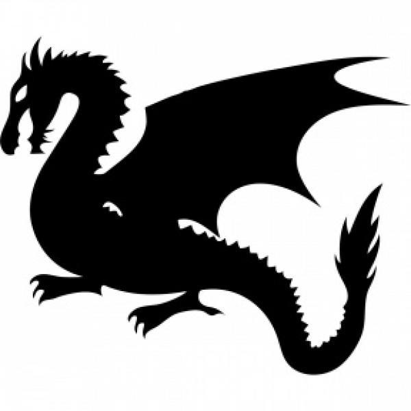 preview White Dragon clipart