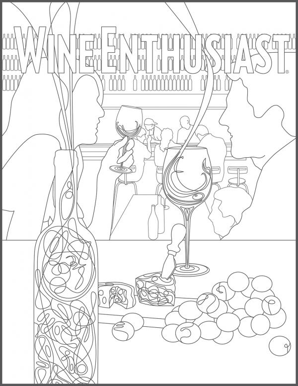 preview Wine coloring