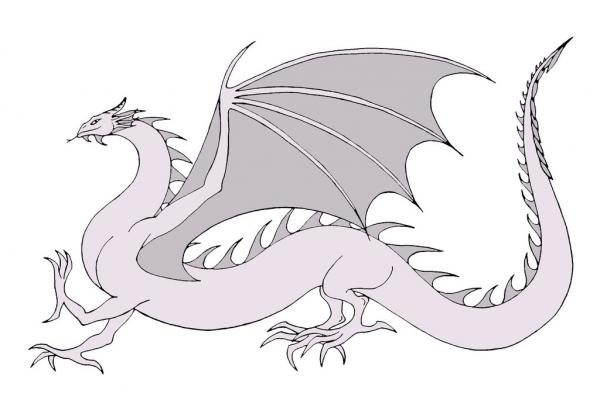 preview Wyrm coloring