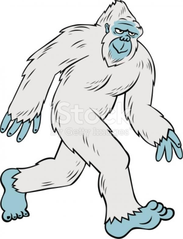 preview Yeti clipart