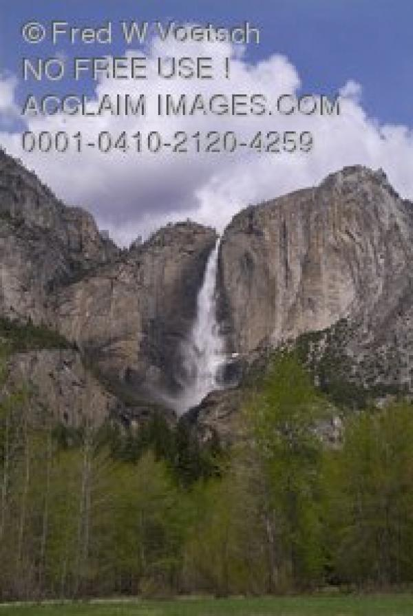 preview Yosemite Falls clipart
