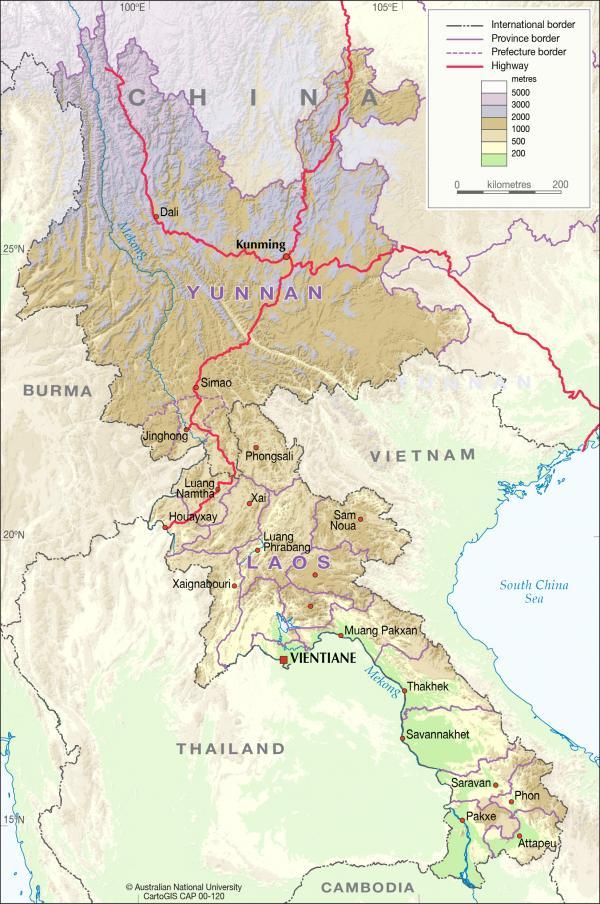 Laos svg