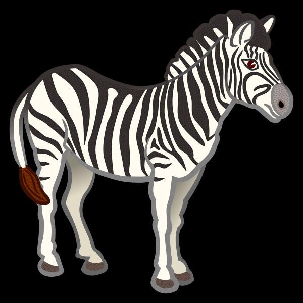 preview Zebra clipart