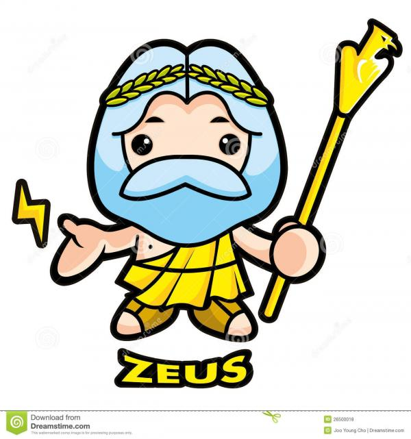 preview Zeus clipart