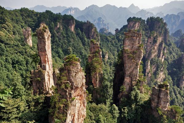 preview Zhangjiajie National Park coloring